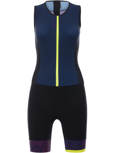 Santini Redux Sleeveless Trisuit Women gray